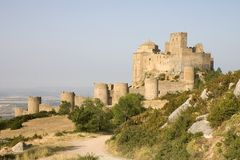 Loarre Castle, Aragon, Spain Royalty Free Stock Image