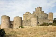 Loarre Castle, Aragon, Spain Royalty Free Stock Photo