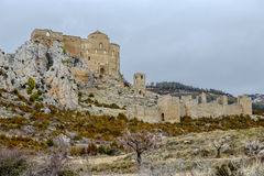 Loarre Castle Castillo de Loarre in Huesca Province Aragon Spain Stock Photos