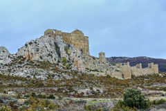 Loarre Castle Castillo de Loarre in Huesca Province Aragon Spain Stock Photography