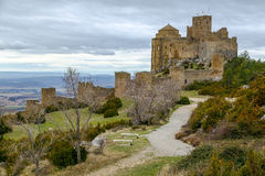 Loarre Castle Castillo de Loarre in Huesca Province Aragon Spain Royalty Free Stock Image