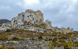Loarre Castle Castillo de Loarre in Huesca Province Aragon Spain Royalty Free Stock Photography