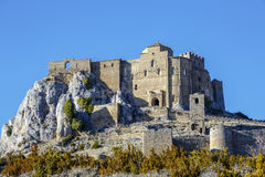 Loarre Castle Castillo de Loarre in Huesca Province Aragon Spain Stock Images
