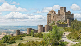 Loarre Castle Castillo de Loarre in Spain Stock Image