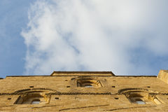 Loarre Castle facade Royalty Free Stock Photo