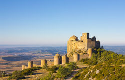 Loarre Castle, Huesca Province, Aragon. Royalty Free Stock Photography