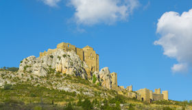 Loarre Castle, Huesca Province, Aragon. Royalty Free Stock Photo