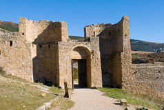 Loarre Castle, Huesca, province of Zaragoza, Arragon,  Spain Royalty Free Stock Photos