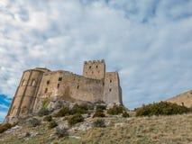 Loarre Castle in Huesca, Spain Stock Photo