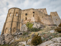 Loarre Castle in Huesca, Spain Royalty Free Stock Image