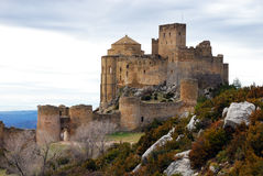 Loarre castle III Royalty Free Stock Photo