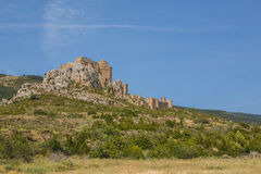 Loarre castle in Loarre, Spain Royalty Free Stock Image