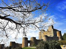 Loarre castle Royalty Free Stock Images