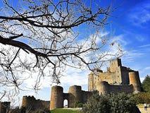 Loarre-Schloss lizenzfreie stockbilder