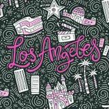 Loas Angeles Symbols Στοκ εικόνα με δικαίωμα ελεύθερης χρήσης