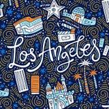 Loas Angeles Symbols Στοκ Εικόνες