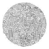 Loas Angeles Symbols Απεικόνιση αποθεμάτων