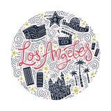 Loas Angeles Symbols Ελεύθερη απεικόνιση δικαιώματος