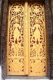 Loas Temple Art cover flap area Stock Images