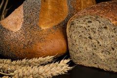 Loaves av bröd Arkivfoton