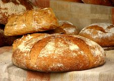 Loaves of bread Royalty Free Stock Photos