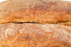 Loaves of bread. Traditionally roasted. Background. Close up stock images