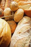 Loaves of Multi-Grain Bread Stock Photo