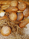 Loaves Of Baked Bread Stock Image