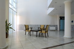 Lobby. Furnitures in a lobby of a hotel Stock Photo
