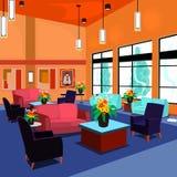 lobby ilustracja wektor