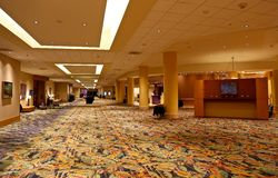lobby Arkivbild