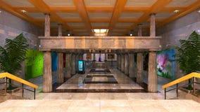 lobby fotografering för bildbyråer