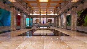 lobby royaltyfria foton