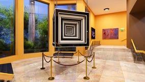 lobby royaltyfri foto