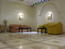 In the lobby. 3 Royalty Free Stock Images