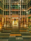Lobby. Architechture building design  colourful Royalty Free Stock Images