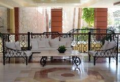 Lobby area. Royalty Free Stock Photo