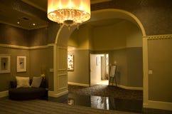 Lobby av Alexis Hotel Royaltyfri Bild