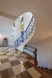 Lobby av en villa fotografering för bildbyråer