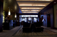 Lobby av hotellet Seattle 1000 Royaltyfri Bild