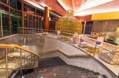 Lobby av semesterorten för SENTIDO Graceland Khao Lak Royaltyfri Fotografi
