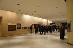 Lobby of Avery Fisher Hall Stock Photo