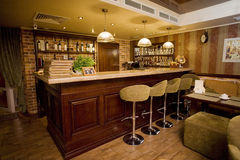 Lobby bar Royalty Free Stock Images