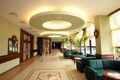 Lobby of building stock images