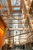 Lobby of the Comcast Center in Philadelphia Stock Photography