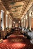 Lobby of the Conrad Hilton hotel - Chicago royalty free stock photo