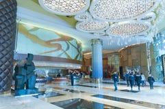 Lobby d'hôtel Photographie stock