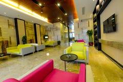 Lobby d'hôtel Photo libre de droits