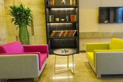Lobby d'hôtel Image stock
