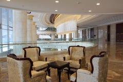 Lobby d'hôtel Photos stock